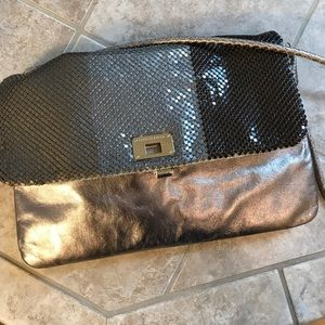 Gorgeous glittery sequined clutch/ shoulder bag